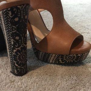 Jessica Simpson Shoes - Jessica Simpson Barrow Platform Heels